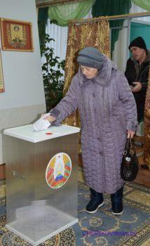Выборы в местные Советы депутатов проходят в Чериковском районе