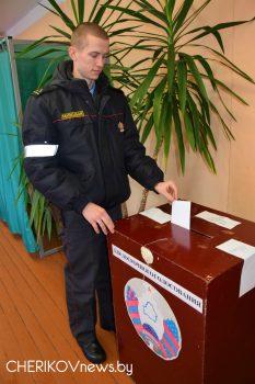 В Чериковском районе стартовало досрочное голосование