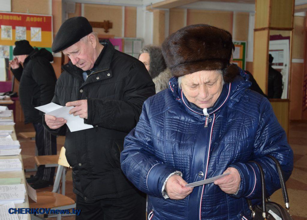 Голосование на выборах в местные Советы депутатов проходит на Ленинском избирательном участке № 2