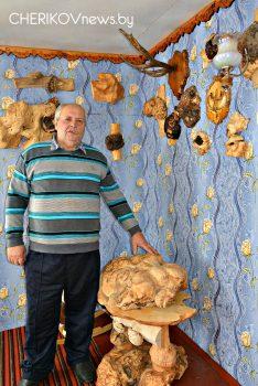 Работы из дерева — конек Николая Сидорова