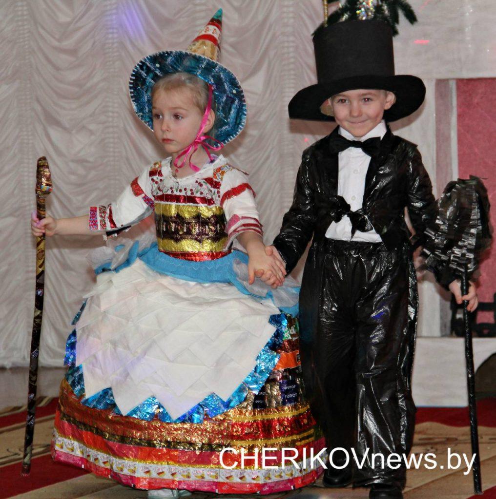 Смотр-конкурс творчества дошколят прошел в Черикове