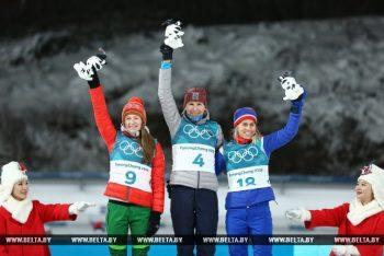 Дарья Домрачева завоевала Олимпийское серебро