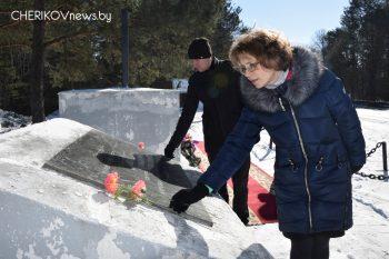 Акция посвященная 75-летию хатынскойтрагедии состоялась в Черикове