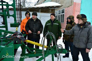 В ОАО «Чериковрайагропромтехснаб» техника к выходу в поле готова