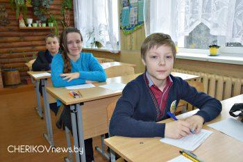 На Чериковщине стартовала ежегодная районная олимпиада по учебным предметам среди учащихся 4-9 классов