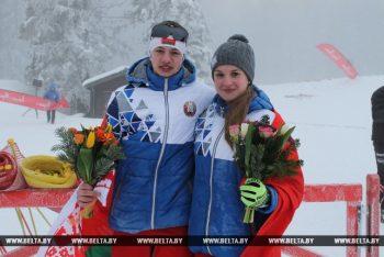 Молодой и перспективный биатлонист Павел Белько