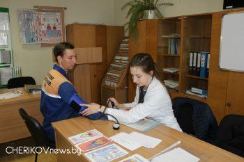 В Чериковском районе прошла акция «Уйти от инсульта»