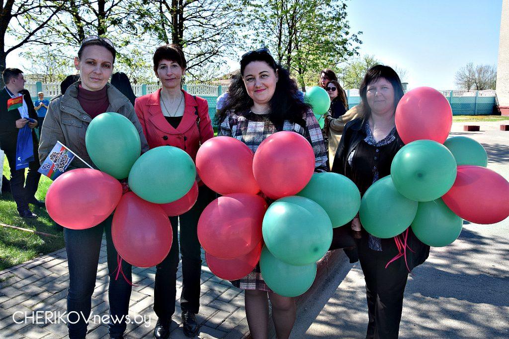 В Черикове отметили Первомай – Праздник труда и весны