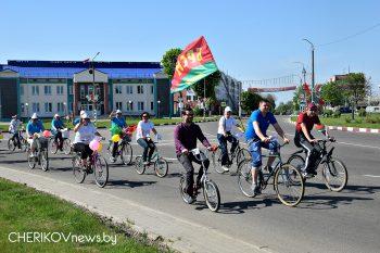 Целевой комплекс надзорных и профилактических мероприятий по предупреждению ДТП с участием водителей мототранспорта и велосипедистов проходит в Чериковском районе