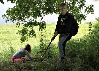 Экологическая акция «Чистый берег», приуроченная ко Дню окружающей среды прошла в Черикове
