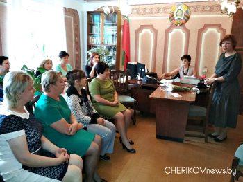 Поздравления с праздником принимал коллектив Чериковского райЦГЭ