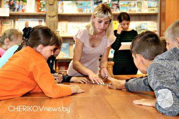 Азбуку безопасных советов изучали учащиеся лагеря средней школы № 1 города Черикова