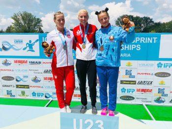 Серебро и бронзу чемпионата мира по гребле на байдарках и каноэ завоевала наша землячка Елена Ноздрева