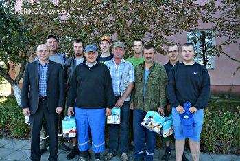 У Чэрыкаўскім раёне адзначаны чарговыя дасягненні на жніве