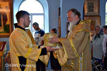 Чериковщину посетил владыка Софроний