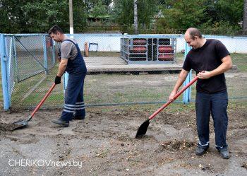 В Чериковском районе набирает обороты месячник по благоустройству