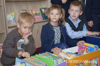 Экскурсию для первоклассников провели в детском отделе центральной районной библиотеки