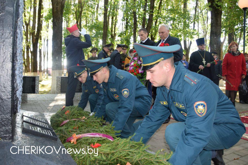 Чериковщина отметила 75-ю годовщину со дня освобождения от немецко-фашистских захватчиков