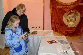 В Чериковском историко-краеведческом музее действует выставка под названием «Октябрь семнадцатого»