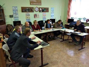 В Лобановском УПК обсуждена реализация проекта