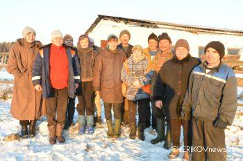 На ферме «Долгое» КСУП «Езерский» поддерживают традиции предыдущих поколений животноводов