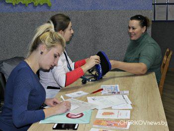 Акция по профилактике сердечно-сосудистых заболеваний проходит в Чериковском районе