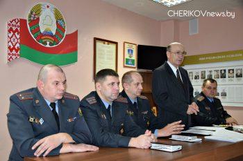 Ветеранов органов внутренних дел чествовали в Черикове