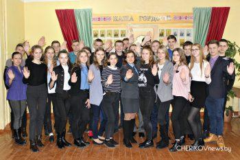 Майор милиции Чериковского РОВД Алеся Михеенко провела со школьниками профилактическую беседу «Нет экстремизму»