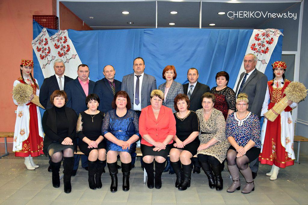 Делегация из Чериковского района приняла участие в празднике для аграриев Могилевщины