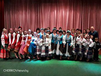 В Езерском СЦК состоялся рапорт-отчет творческих трудовых коллективов