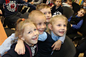 В детском отделе центральной районной библиотеки Черикова состоялось мероприятие «Есть немало праздников прекрасных»