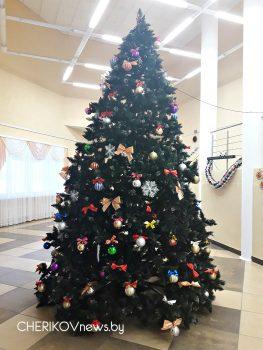Череда новогодних праздников на Чериковщине начинается