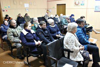 Собрание граждан в деревне Удога Чериковского района