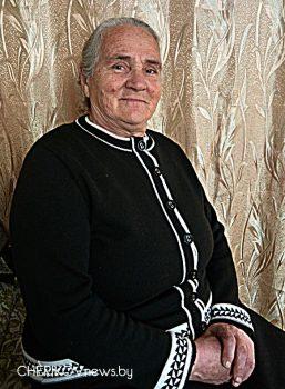 Не забыты заслуги ветерана сельскохозяйственной отрасли Чериковского района Любови Урупиной