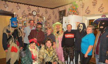 Весело и задорно прошли коляды в агрогородке Езеры Чериковского района