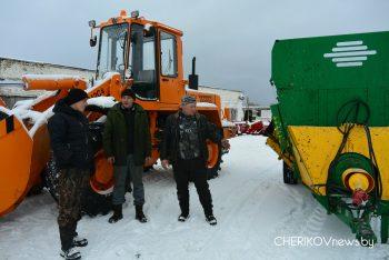 Сельхозпредприятия Чериковского района  пополнились новыми  единицами техники