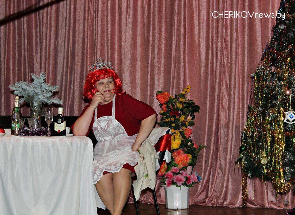 В Езерском сельском Центре культуры состоялась праздничная программа «Однажды под Новый год»