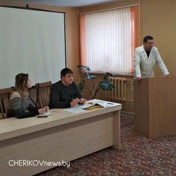 Обучающий семинар с педагогами Чериковщины прошел на минувшей неделе