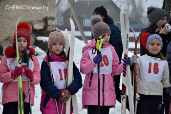 Соревнования по лыжным гонкам прошли в Черикове