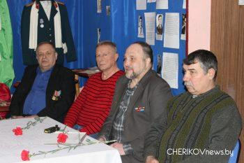 В Чериковском историко-краеведческом музее состоялось мероприятие, посвященное 30-летию вывода Советских войск из Афганистана