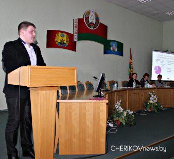 ХIII Пленум Чериковского райкома ОО «Белорусский республиканский союз молодежи» состоялся на уходящей неделе
