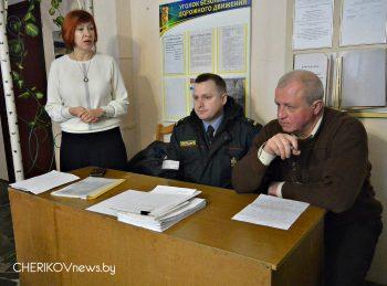 В Черикове прошел районный семинар-учеба по теме «Выпуск автотранспорта на линию»