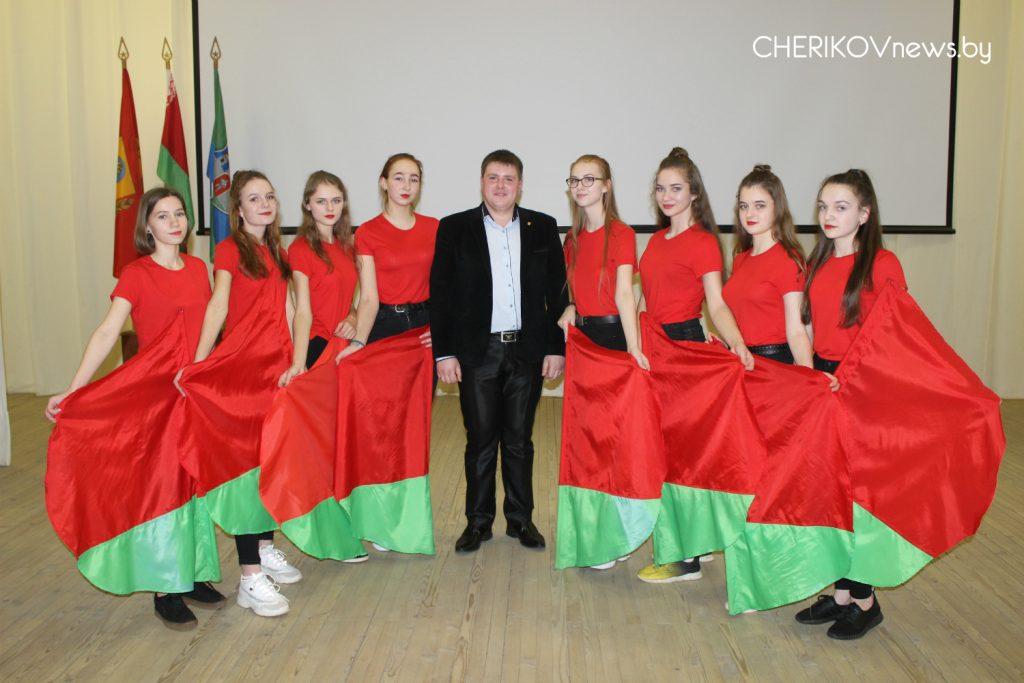 В Черикове состоялось районное молодежное тематическое мероприятие «100 лет БССР: тебе, Беларусь, в веках красоваться»
