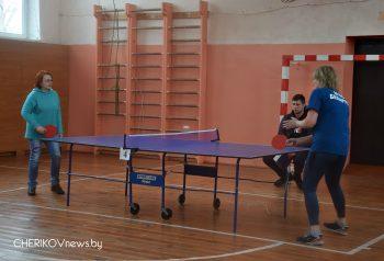 В Черикове прошли соревнования по настольному теннису