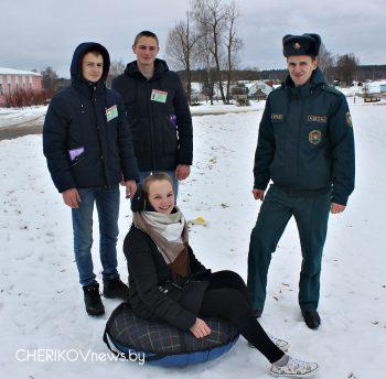 Акцию «Безопасный спуск» провели бойцы Езерского МООП