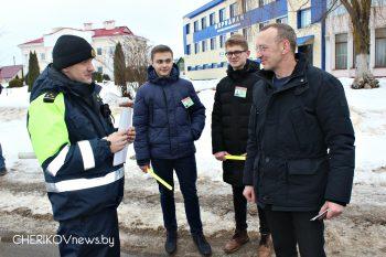 В Черикове прошла акция «Операция пешеход»