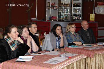 На минувшей неделе в Черикове состоялся тренинг «Повышение роли местных некоммерческих организаций и инициативных групп в локализации ЦУР и реализации Регионального плана взаимодействия 7 районов Могилевской области»