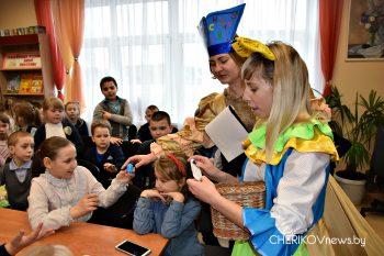 На Чериковщине дан старт неделе детской книги