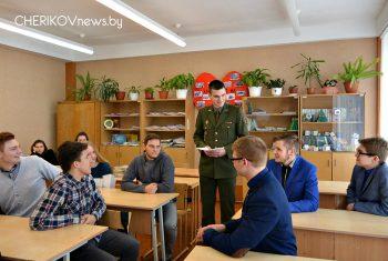 Представители Военной академии Республики Беларусь посетили школы Черикова