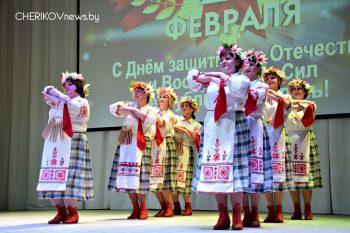 Праздничный концерт, посвященный Дню защитника Отечества состоялся в районном Доме культуры